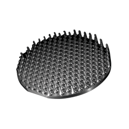 Placa de púas Aluminio 2017