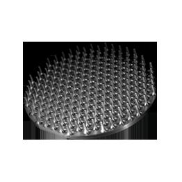 Spiked plate Aluminium 2017