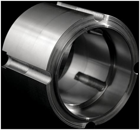 Coupling cap F114 steel