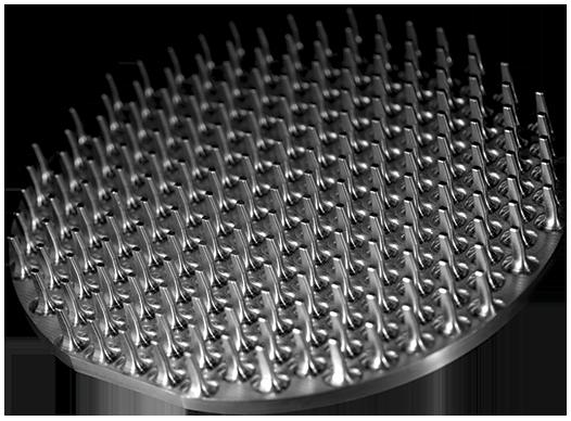 Placa de punxes Alumini 2017