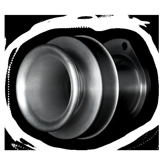 Inlet flange Aluminium 2017