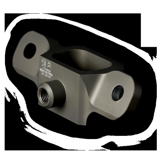 Shock absorber support Aluminium 7075 OAD