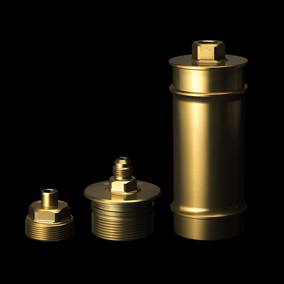 Filter box 7075 T6 aluminium